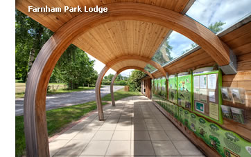 Elspeth Beard Architects - Farnham Park Lodge