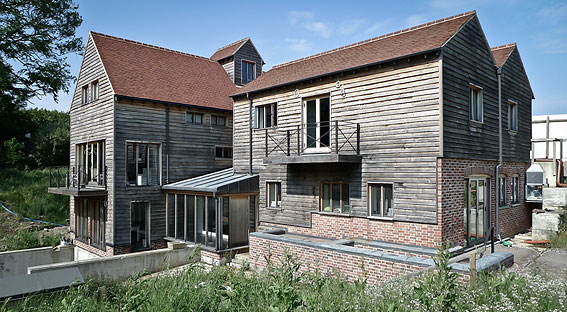 Elspeth Beard Architects - Mill Conversion - construction