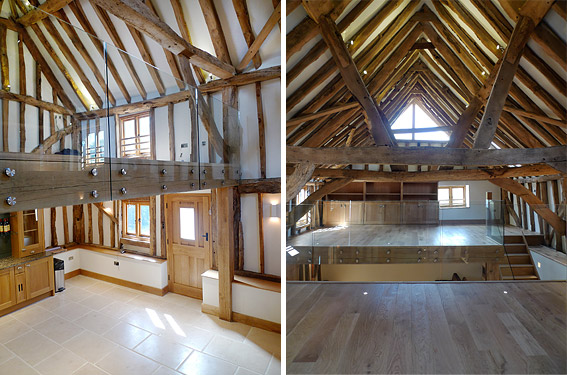 Elspeth Beard Architects - Wix Farm Barn